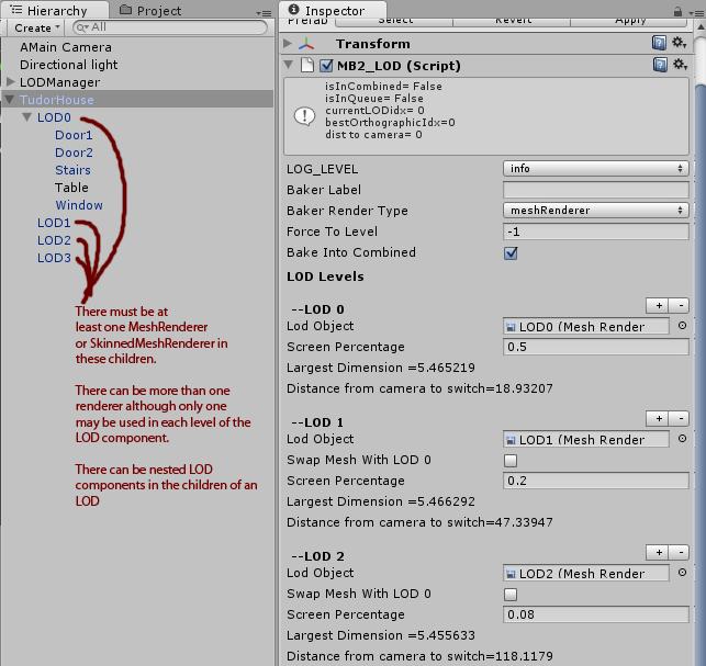 MeshBaker LOD Manual | Digital Opus
